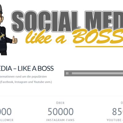 Blogger Hörbuch Social Media Like A Boss