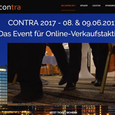 Contra 2017 Konferenz Tickets