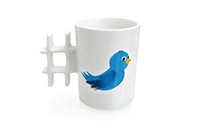 Twitter Tasse im Blogger Shop von Bloggerherz